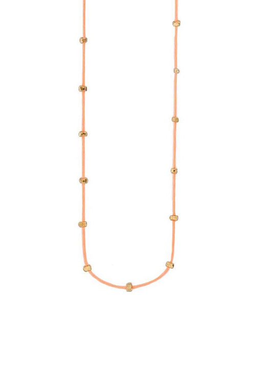 Nectarine Bead Necklace