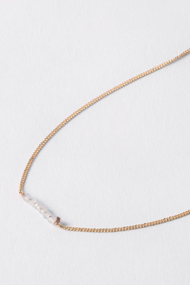 Moonstone Delicate Necklace