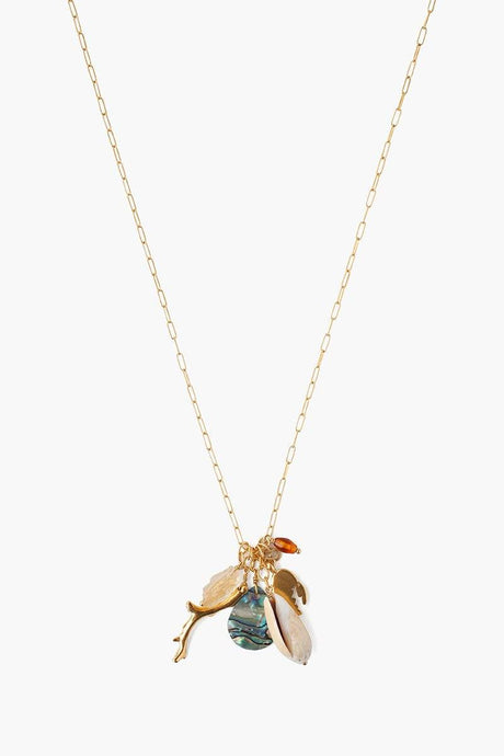 Abalone Mix Sea Charm Necklace