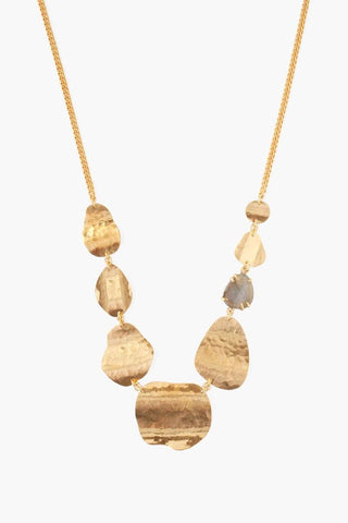 Yellow Gold Horn Necklace