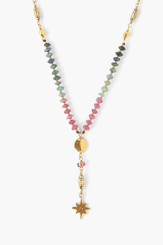 Tourmaline Astral Y-Necklace