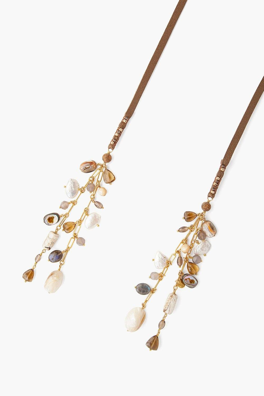 Natural Mix Adjustable Necklace
