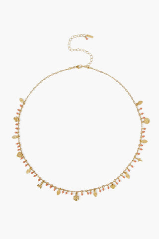Coral Le Souk Charm Necklace
