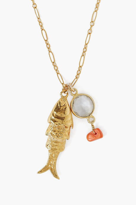 Lucky Koi Pendant Necklace