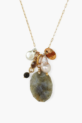 Labradorite Mix Voyage Silver Necklace