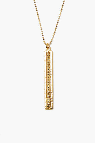 Yellow Gold Sedona Pendant Necklace