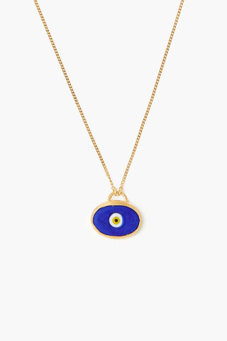 Blue Grand Evil Eye Pendant Necklace