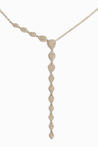 Diamond Le Baroque White Necklace