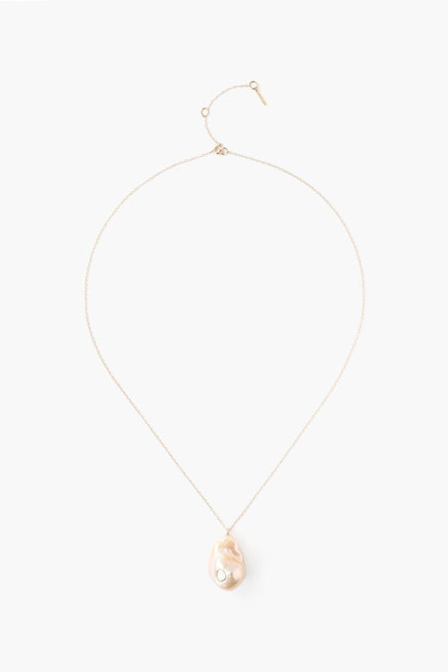 Diamond Le Baroque Natural Pink Necklace (Exclusive)