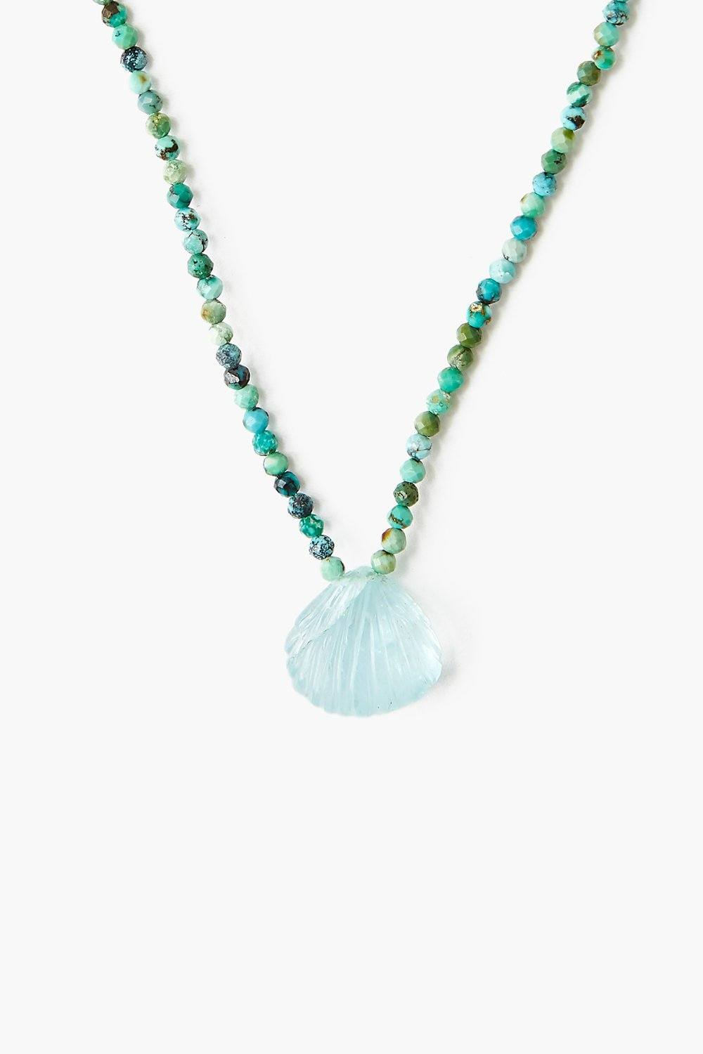 Aquamarine La Plage Necklace