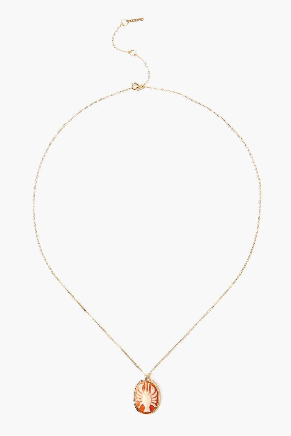 14k La Mer Lobster Necklace