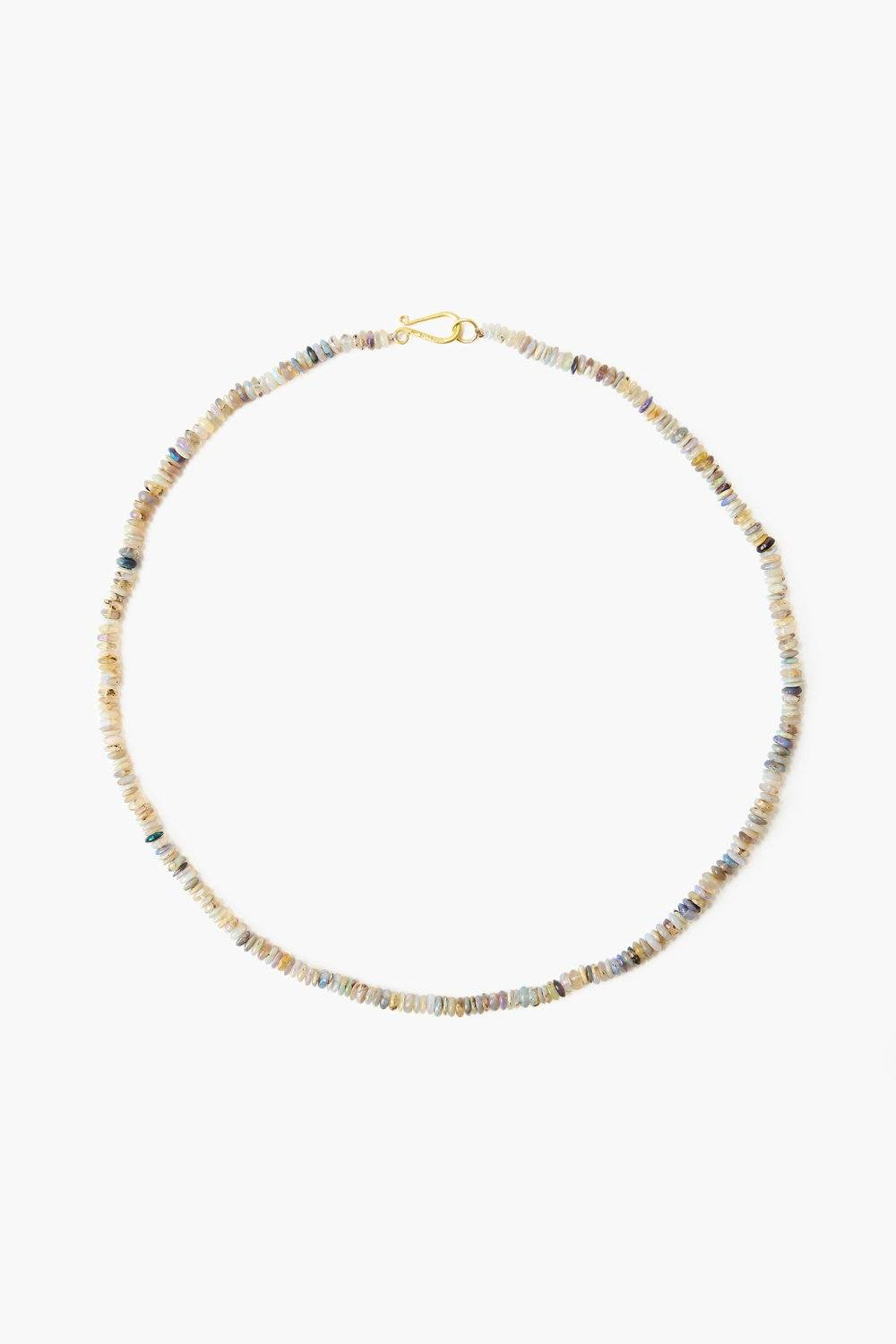 Opal Puka Necklace