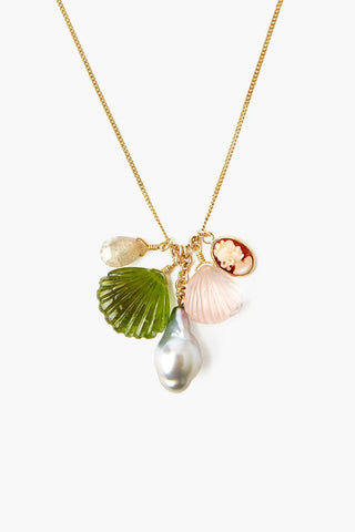 La Mer Multi Charm Necklace