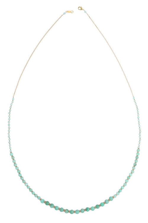 Amazonite Graduated Layering Necklace