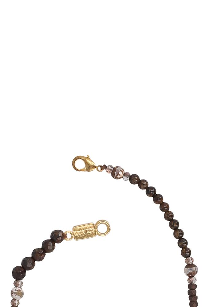 Brown Mix Layering Necklace