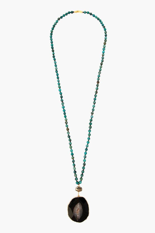 Turquoise Mix Pendant Necklace