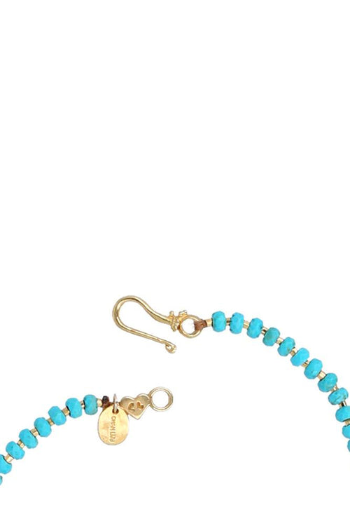Turquoise Mix Layering Statement Necklace