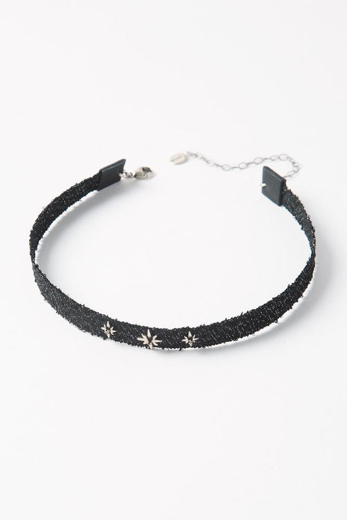 Black Mokuba Star Choker