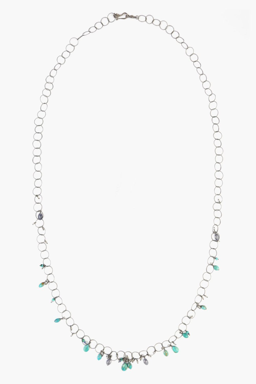 Turquoise Mix Chain Layering Necklace