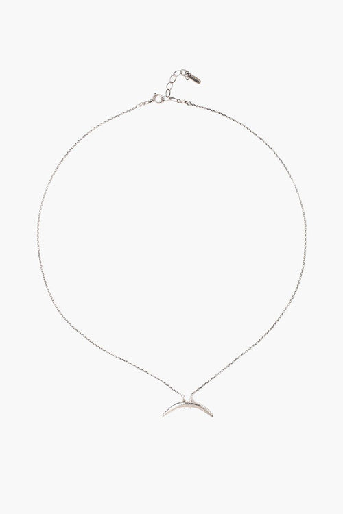 Silver Petite Horn Necklace (Pre-Order)