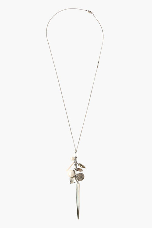 Pyrite Mix Charm Layering Necklace (Pre-Order)