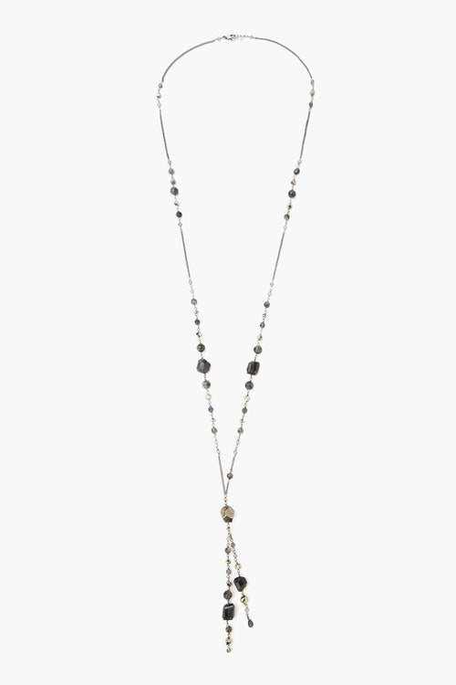 Iolite Mix Y Necklace
