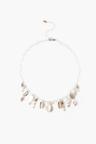 Tiger's Eye Mix Beaded Short Necklace