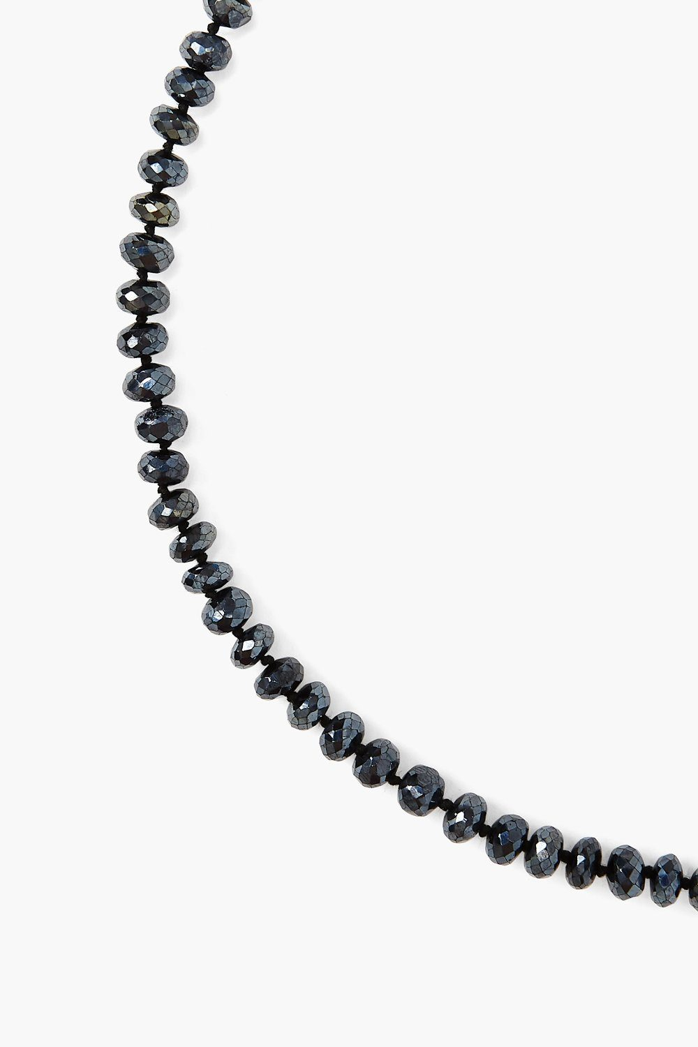 Mystic Black Spinel Toggle Necklace