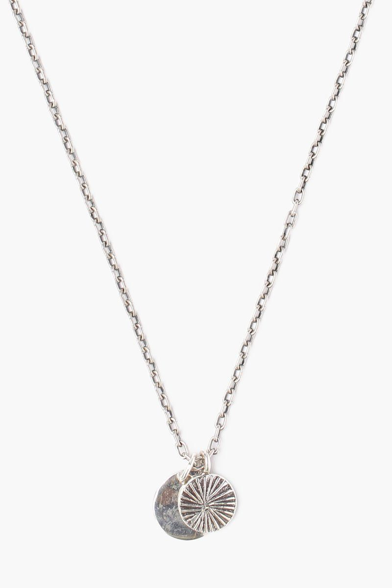 Silver Coin Charm Necklace (Pre-Order)