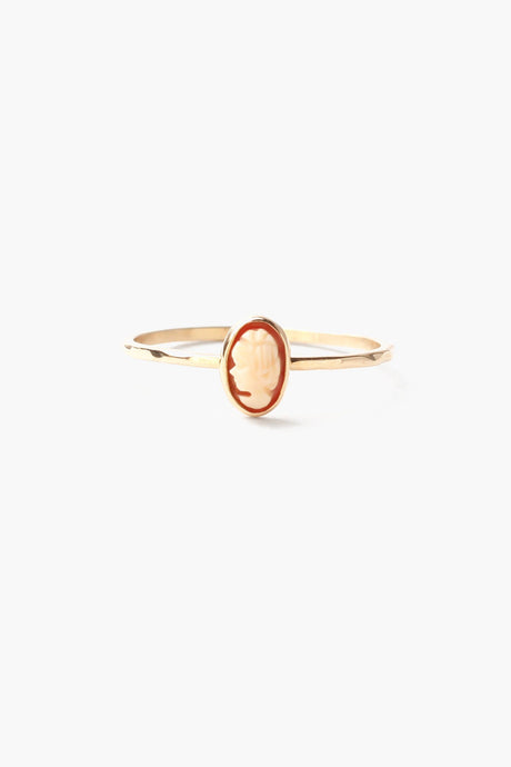Camilla Cameo Stacker Ring