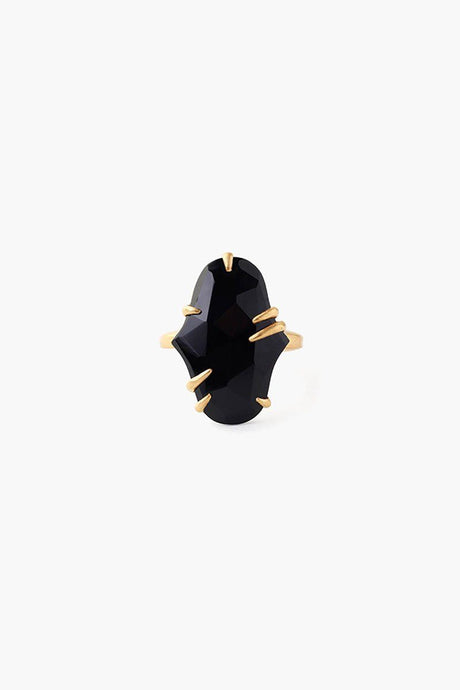 Pronged Onyx Ring