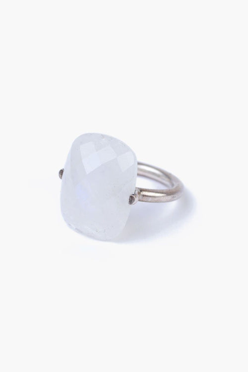 Moonstone Pendant Ring