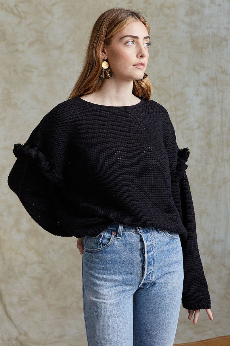 Black Quinn Sweater