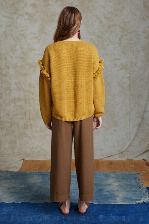 Harvest Gold Quinn Sweater