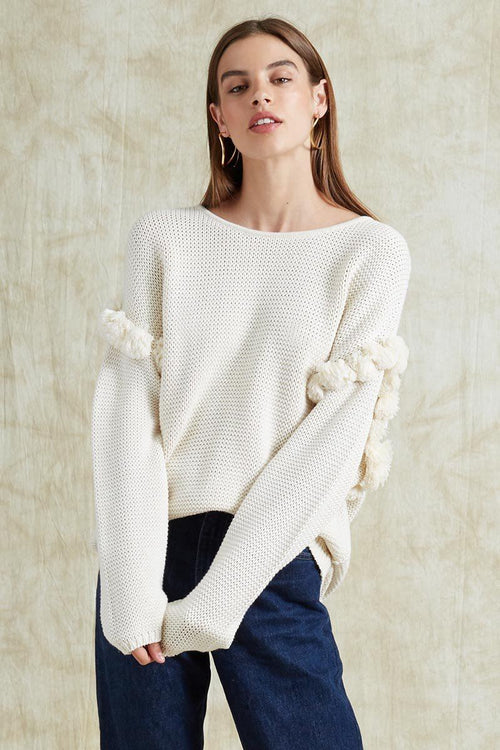 Seed Pearl Quinn Sweater
