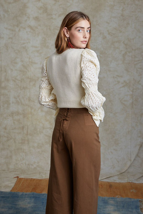 Seed Pearl Bridget Sweater