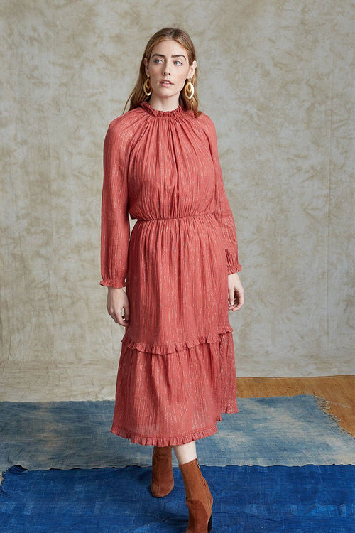 Marsala Rosie Dress