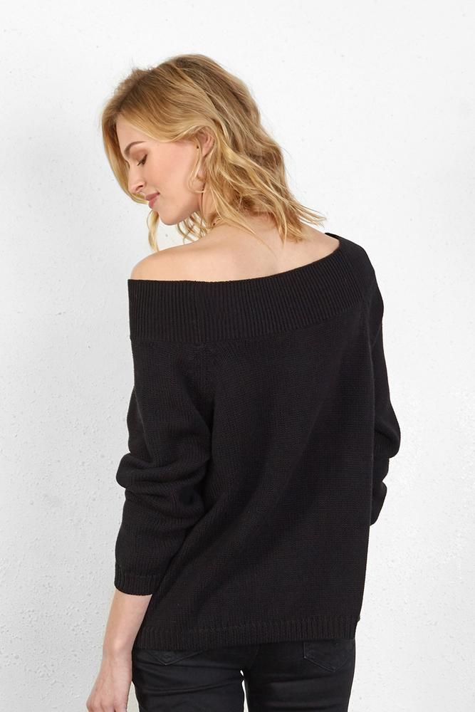 Black Jennifer Sweater