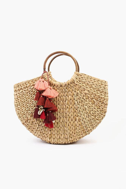 Large Handwoven Bamboo Basket