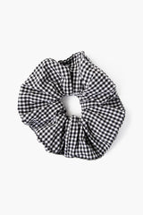 Set of Two Mulberry Patchwork Scrunchies