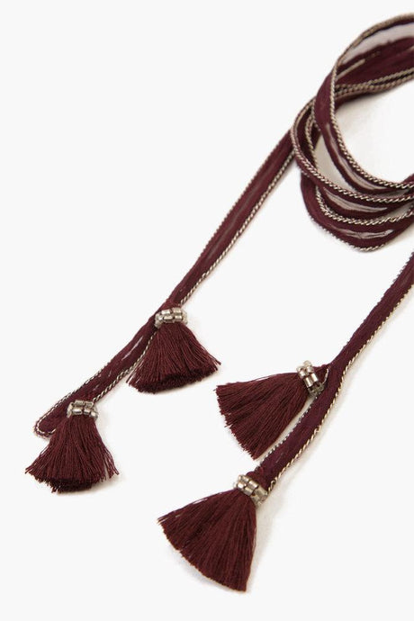 Fig Tassel Necktie