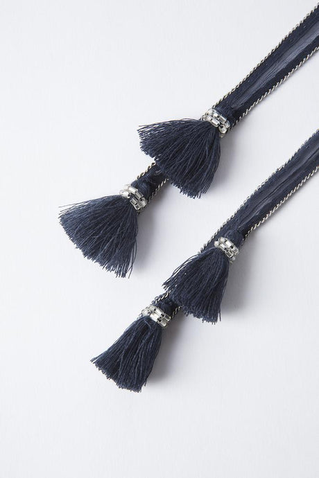 Total Eclipse Tassel Necktie