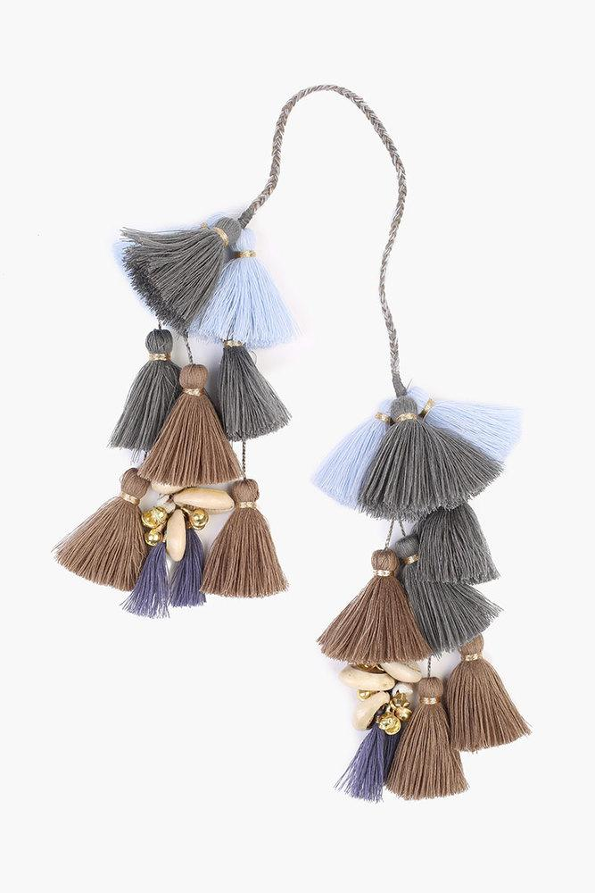 Beetle Mix Basket Tassel Charm