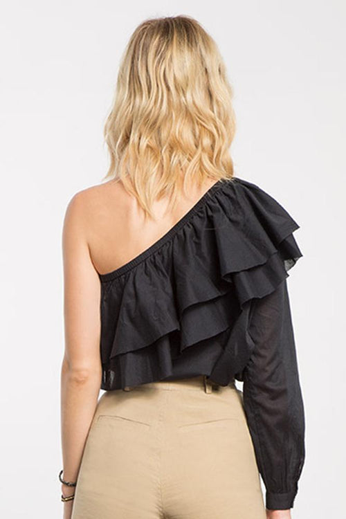Black Lexington Top