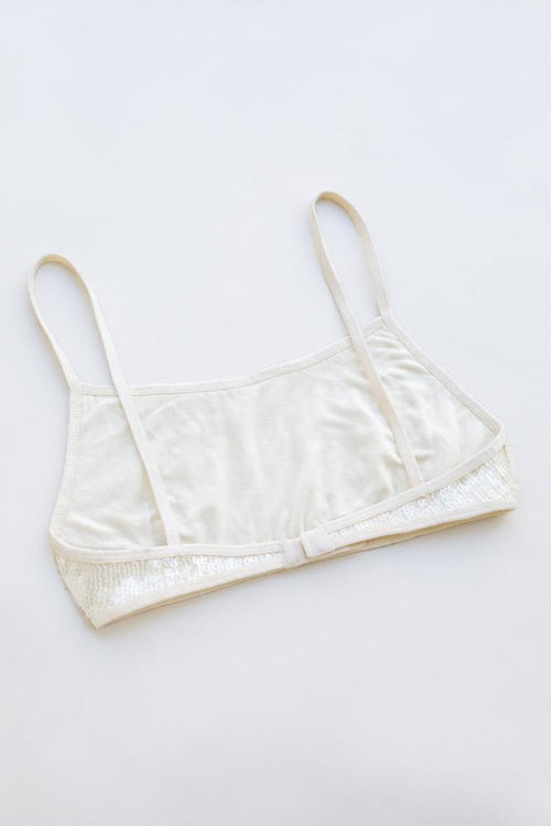 White Swan-Clear Sport Cut Bra