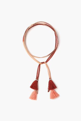Brown Sugar Tassel Necktie