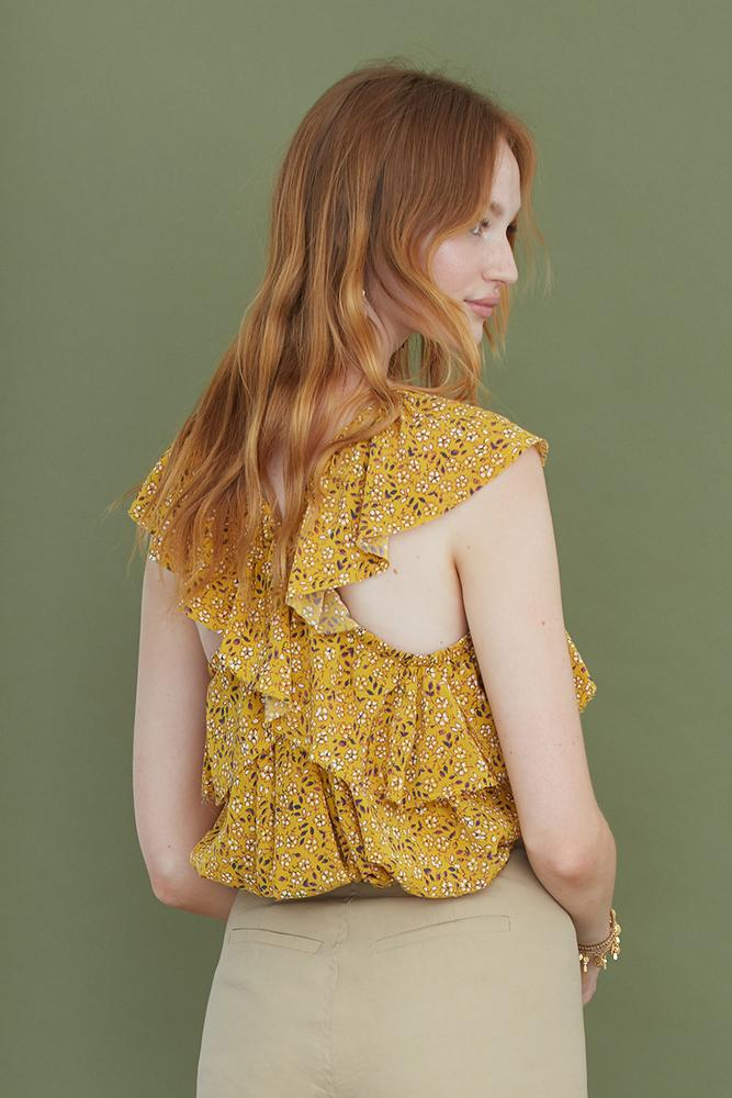 Marigold Mix Avery Top
