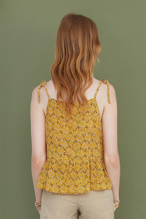 Marigold Mix Abigail Top