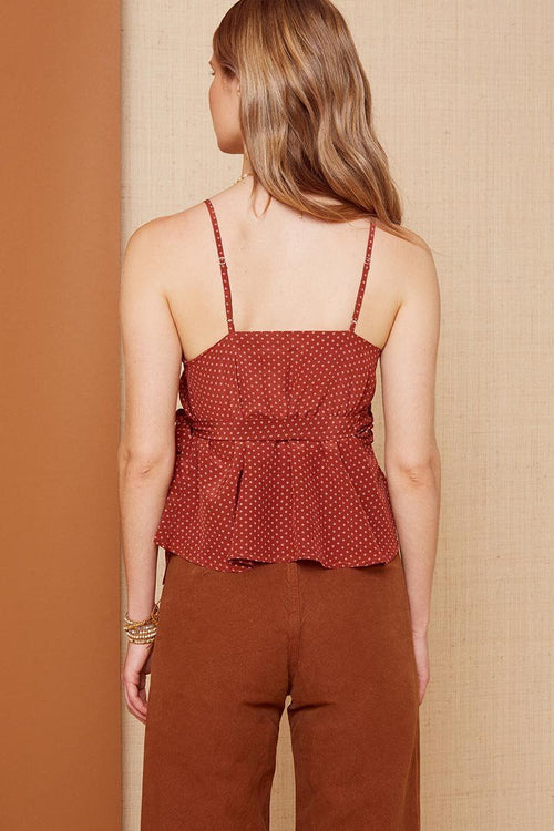 Barn Red Jamie Top