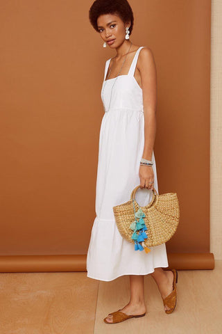 White Rosario Dress